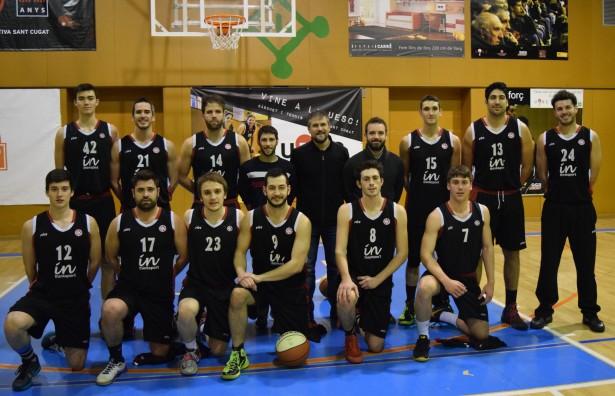 Foto plantilla UESC 2015-2016 entrenador Cesc Senpau