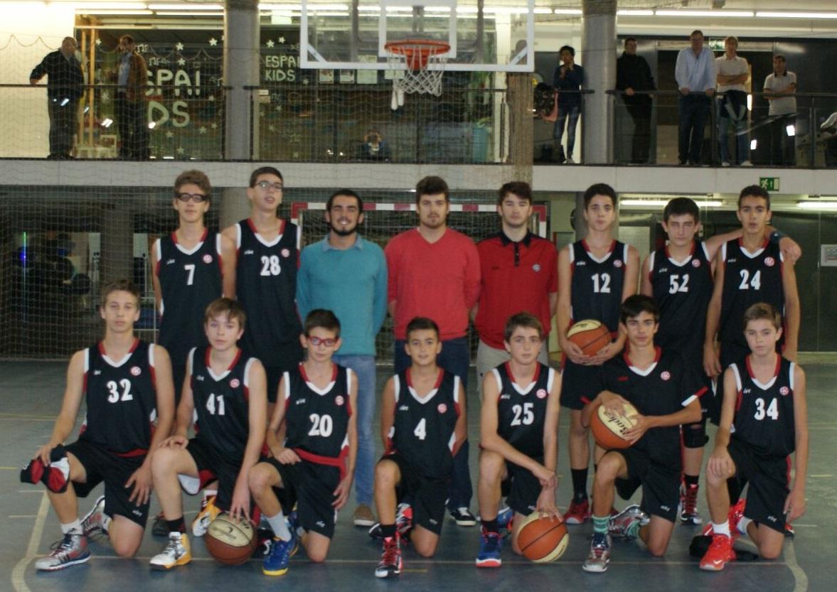 Infantil Negre UESC foto plantilla temporada 2015-2016