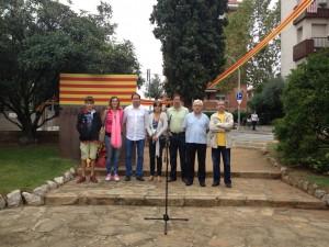 Ofrena Diada Nacional de Catalunya 2013