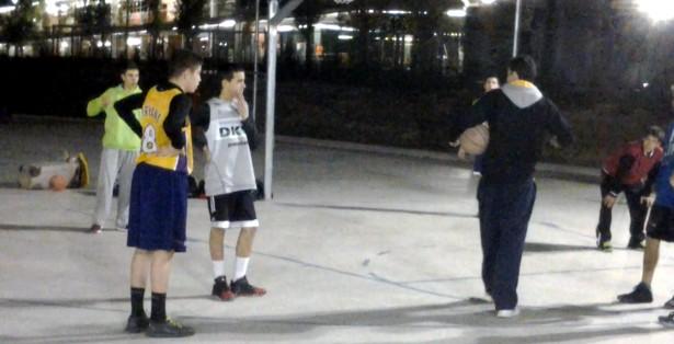 Entrenament Patrick Reyes