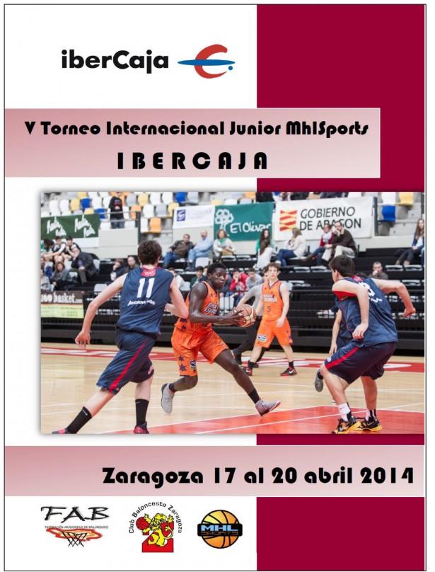 Calendario V Torneo Internacional Junior IBERCAJA MHLSPORTS-1