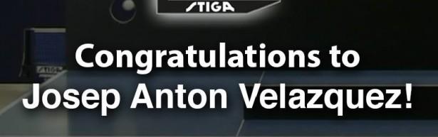 Congrats ITTF 2014 STIFA Trick Shot Josep Antón