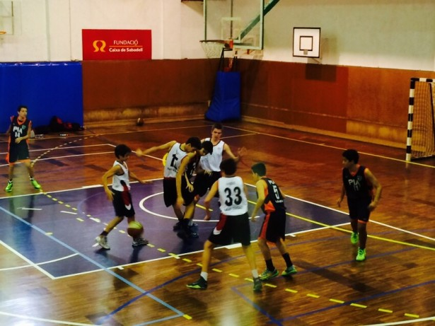 Bàsquet Pia Sabadell A - Infantil Negre Masc 2014-2015 1