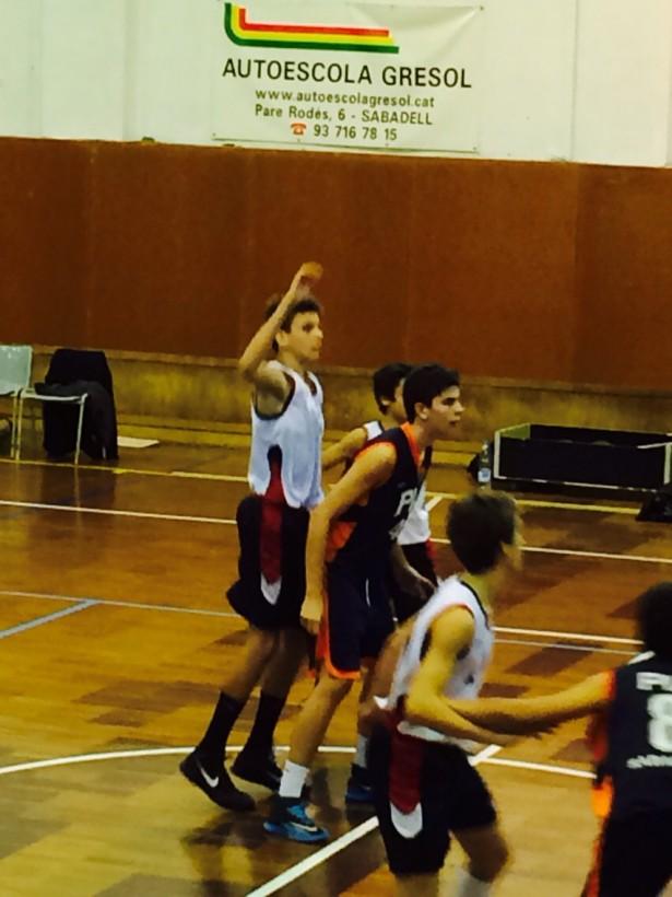 Bàsquet Pia Sabadell A - Infantil Negre Masc 2014-2015 2