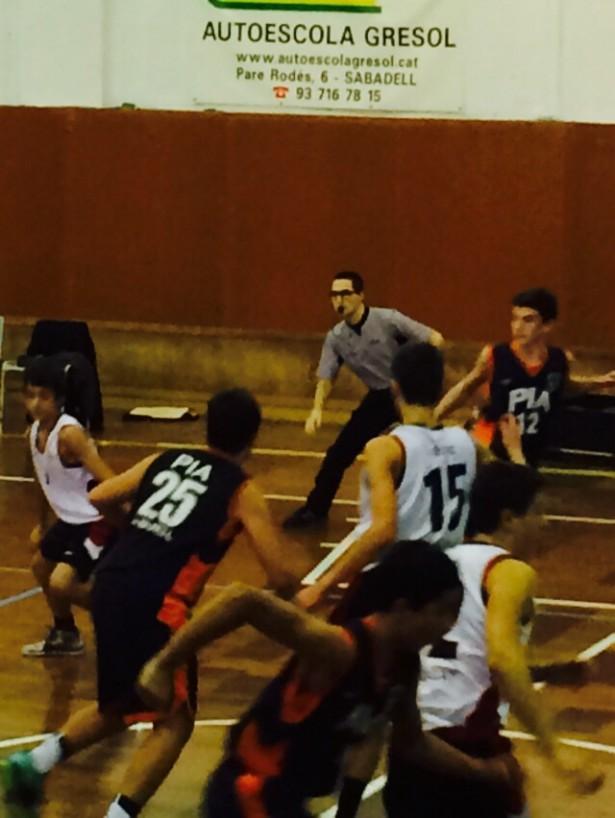 Bàsquet Pia Sabadell A - Infantil Negre Masc 2014-2015 3