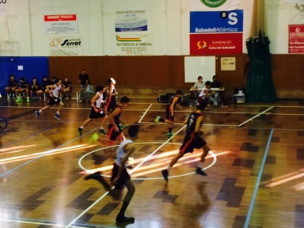 Bàsquet Pia Sabadell A - Infantil Negre Masc 2014-2015 6