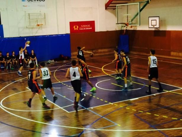 Bàsquet Pia Sabadell A - Infantil Negre Masc 2014-2015