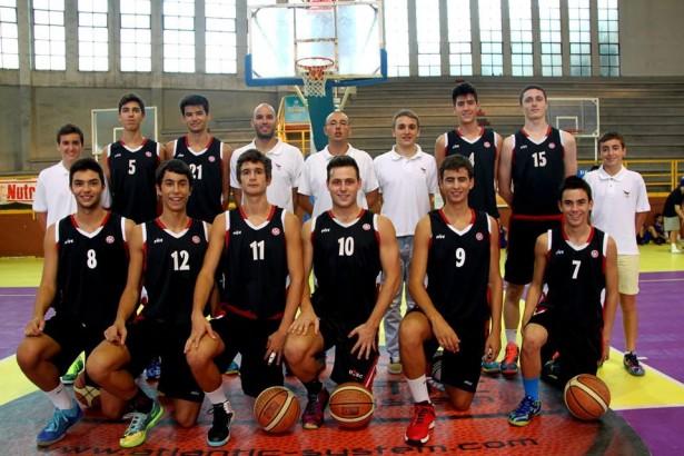 Plantila Júnior 1 Masc 2014-2015 pretemporada