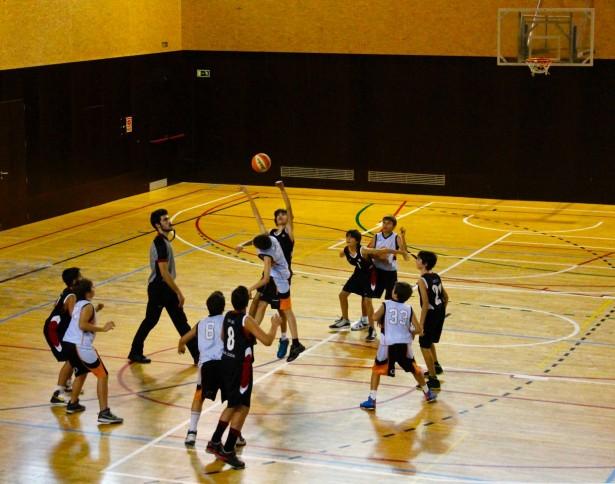 Preinfantil Blanc Masc - Qbasket Sant Cugat Groc 2014-2015
