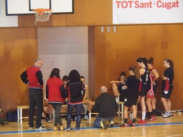 Sub 21 Fem - Basquet Sitges 2014-2015  10