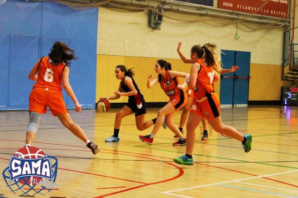 Cadet 1 Fem  2014-2015 torneig ciutat de vilanova 1