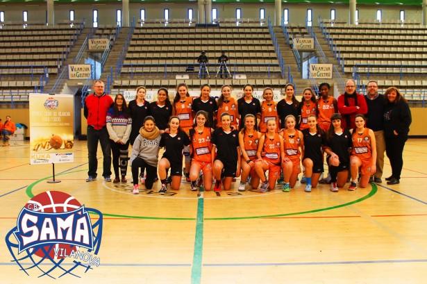 Cadet 1 Fem 2014-2015 torneig ciutat de vilanova 10