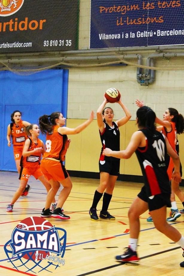 Cadet 1 Fem  2014-2015 torneig ciutat de vilanova 2
