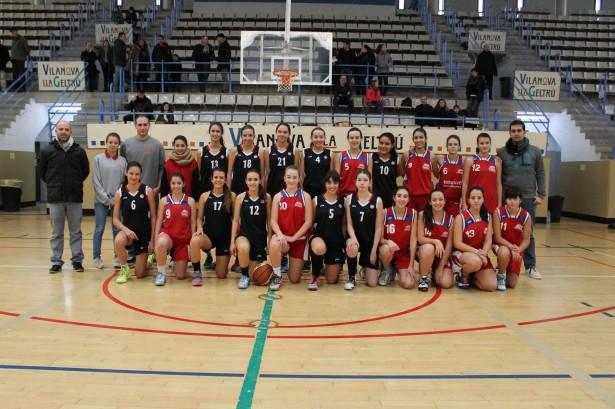 Cadet 1 Fem 2014-2015 torneig ciutat de vilanova 5