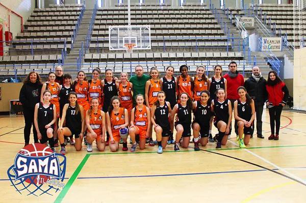 Cadet 1 Fem  2014-2015 torneig ciutat de vilanova 6