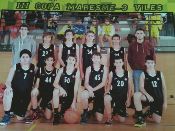 Infantil Blau Masc Copa Maresme-3 Viles