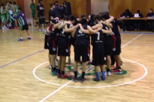 Júnior 1 Masc - Arenys Bàsquet A 2014-2015 pinya