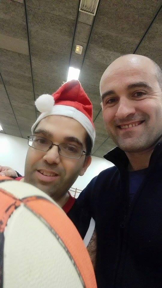 Sènior 2 entrenament UESC-ASDI 2014-2015 Nadal  1
