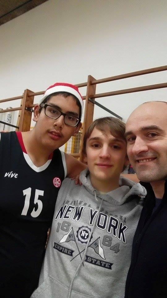 Sènior 2 entrenament UESC-ASDI 2014-2015 Nadal