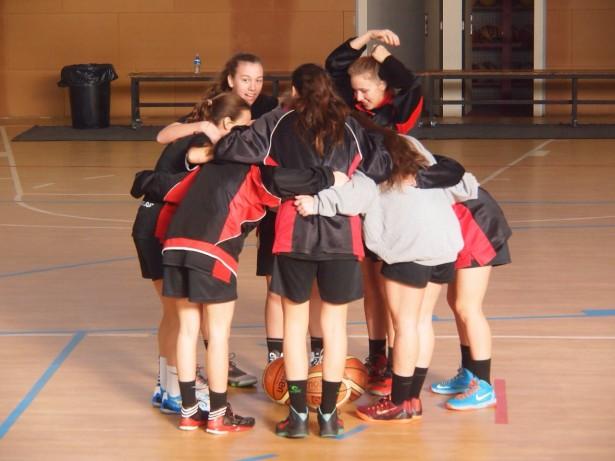 CB Sentmenat - SUB-21 Fem pinya equip 2014-2015