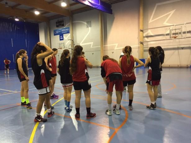 Padrines Raquel Pérez-Anna Vulart Cadet 1 Fem 1