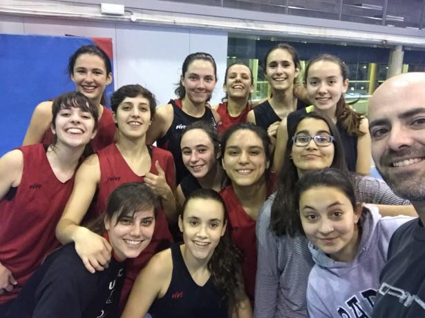 Padrines Raquel Pérez-Anna Vulart Cadet 1 Fem