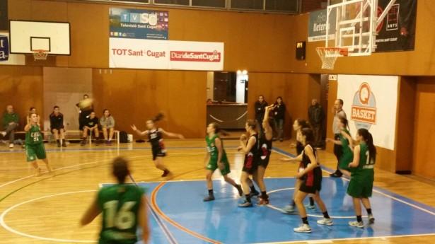 UESC Femení B - Les Franqueses A 2014-2015 4