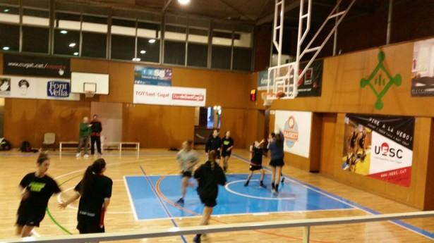 UESC Femení B - Les Franqueses A 2014-2015