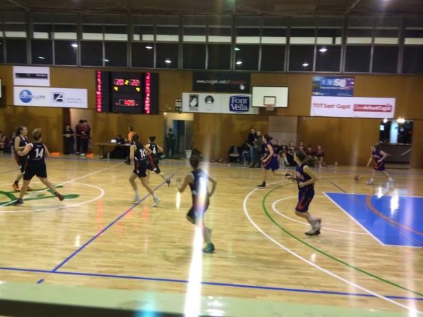 UESC Femení - Escola Sant Gervasi 2014-2015 1