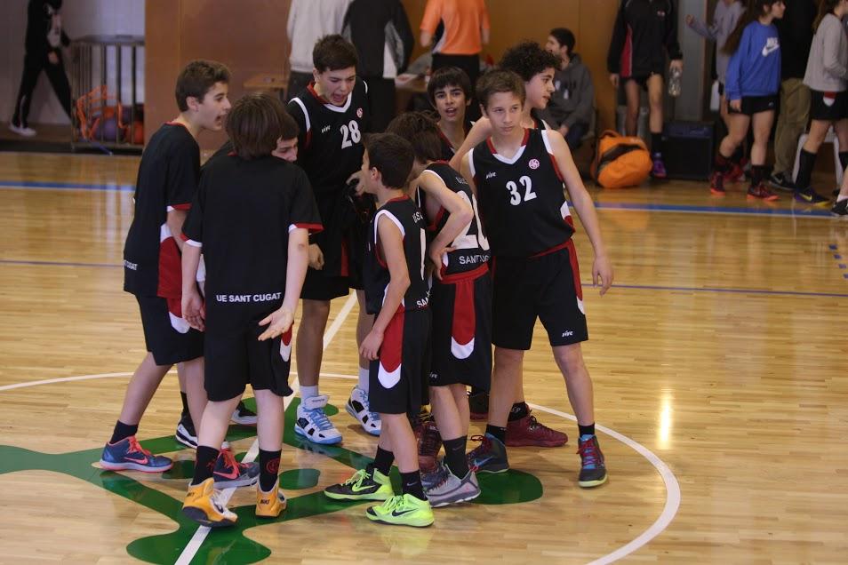 Imatge d'un partit de l'Infantil Negre la temporada passada II Foto: Horacio Barrios