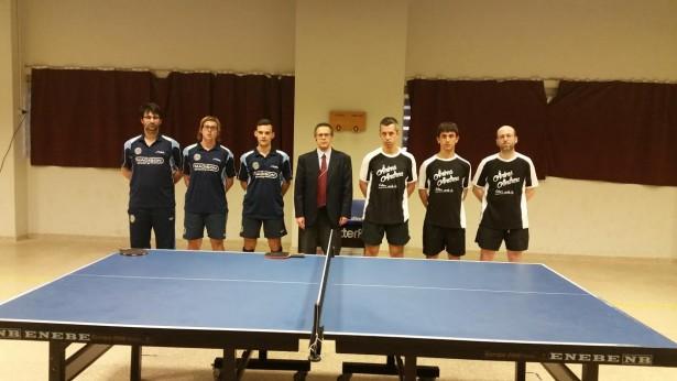 La secció de tennis taula també ha volgut donar suport a Andreu Cervera