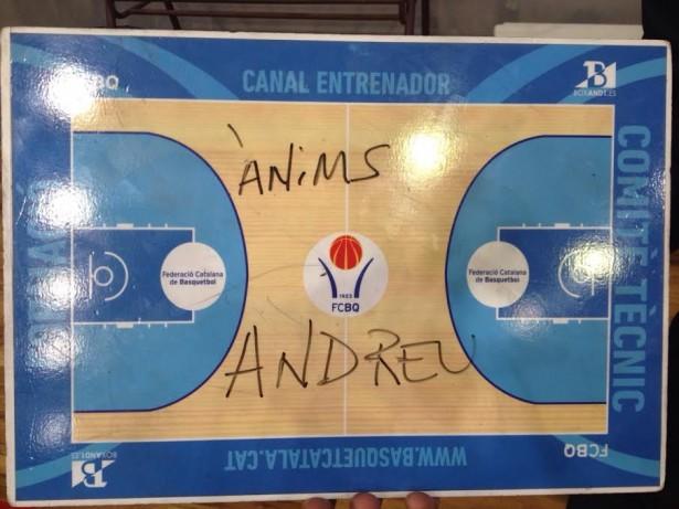 anims Andreu Cervera - CB Santfeliuenc
