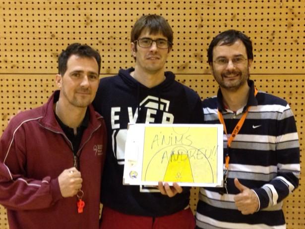anims Andreu Cervera - Manresa