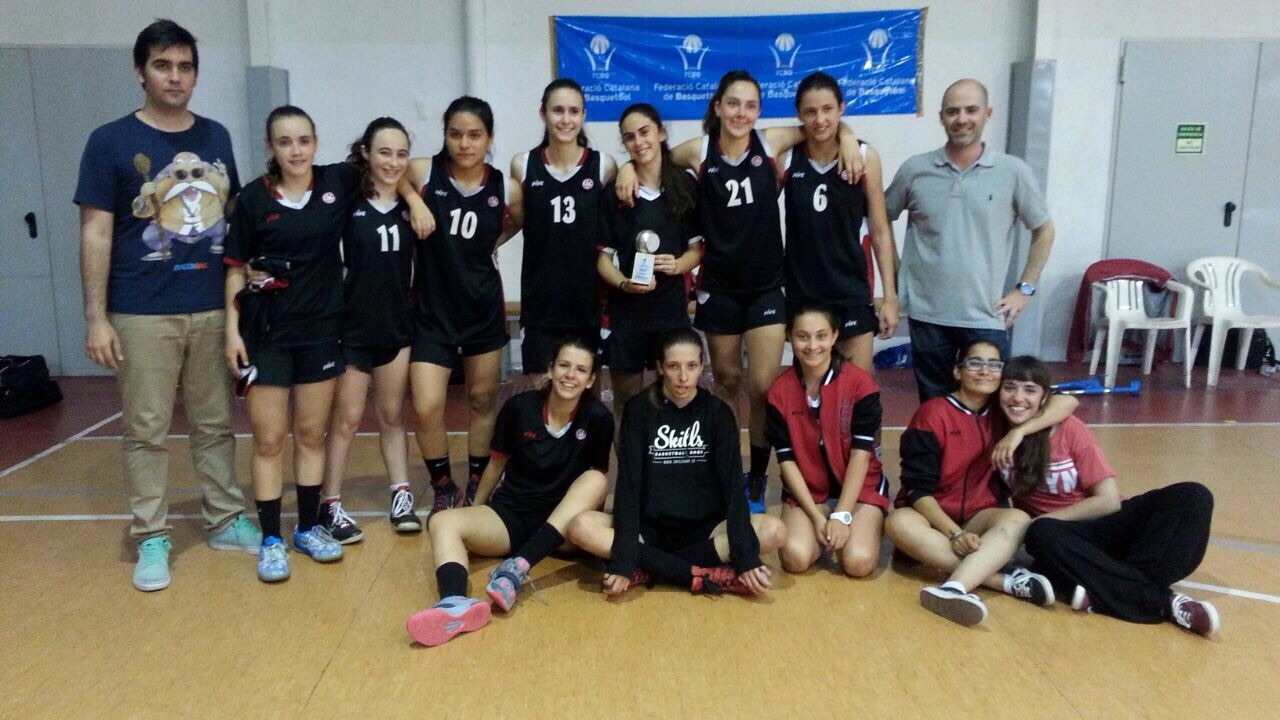 Barça CBS-Blau - Cadet 1 Femení 2014-2015 Final Nivell A2 1