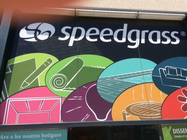 Speedgrass cartell publicitari 1