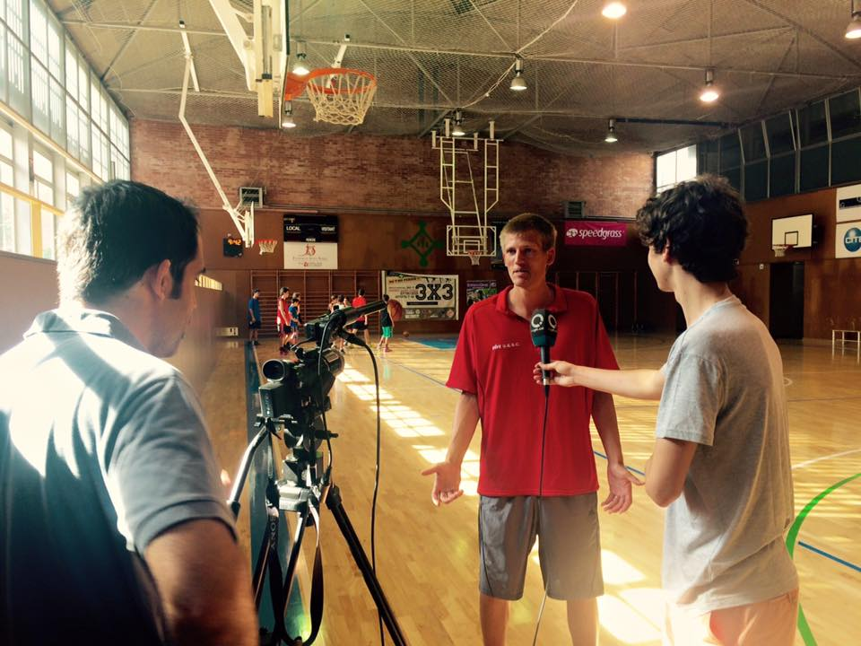 Peter Zigterman Basket City Summer 2015 Entrevista Cugat
