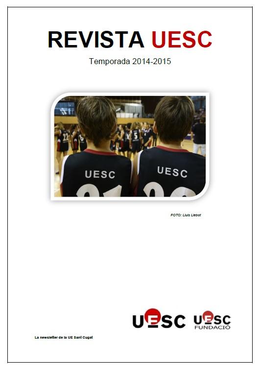 Revista UESC temporada 2014-2015 portada