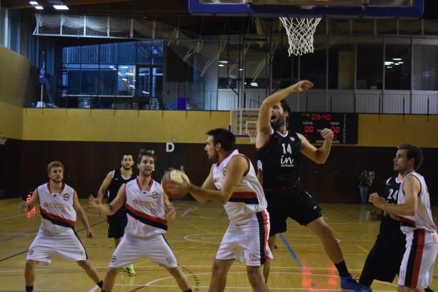 Alberto Reyes UESC-Bisbal Bàsquet Copa Catalunya 2015-2016