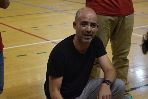 Germán Simón entrenadors UESC Copa Catalunya 2015-2016