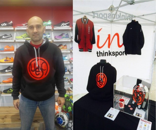Marxandatge UESC Thinkinsport temporada 2015-2016 model Emilio Callejo