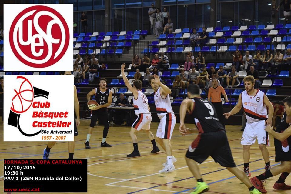 UESC - CB Castellar temporada 2015-2016 Copa Catalunya