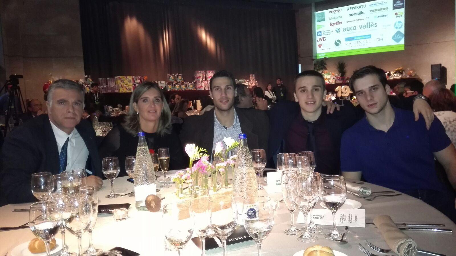 Sopar ASDI temporada 2015-2016 UESC