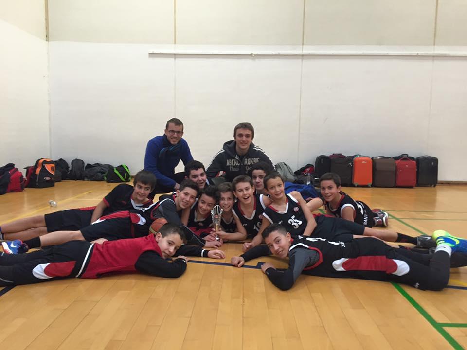 Preinfantil Negre UESC torneig 4-Nation Basketball Tournament. Vaerlose DINAMARCA 23-24 gener 2016