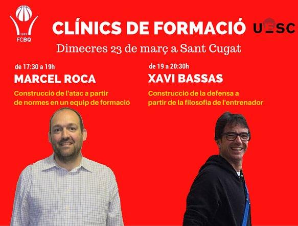 Clínic formació FCBQ-UESC dimecres 23 març Sant Cugat
