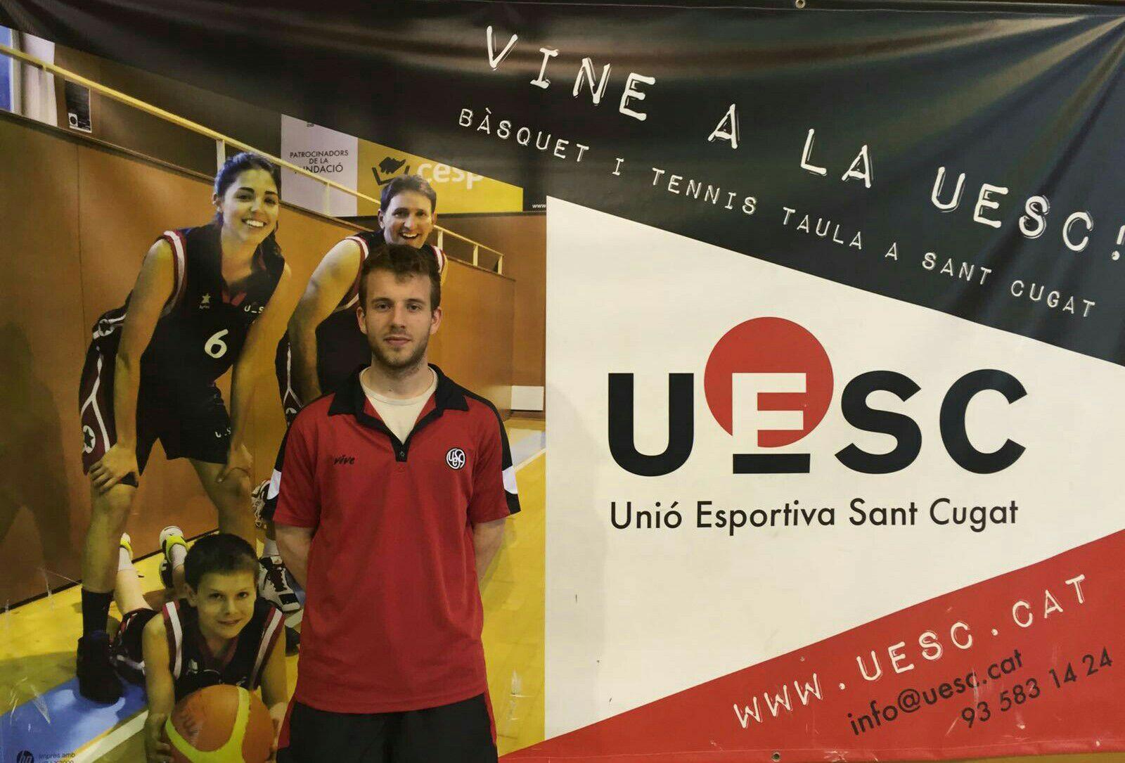 Albert Garcia entrenador UESC temporada 2015-2016