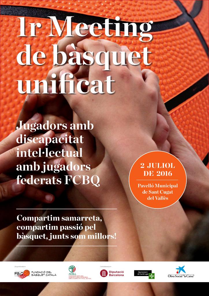 1r Meeting Bàsquet Unificat CARTELL