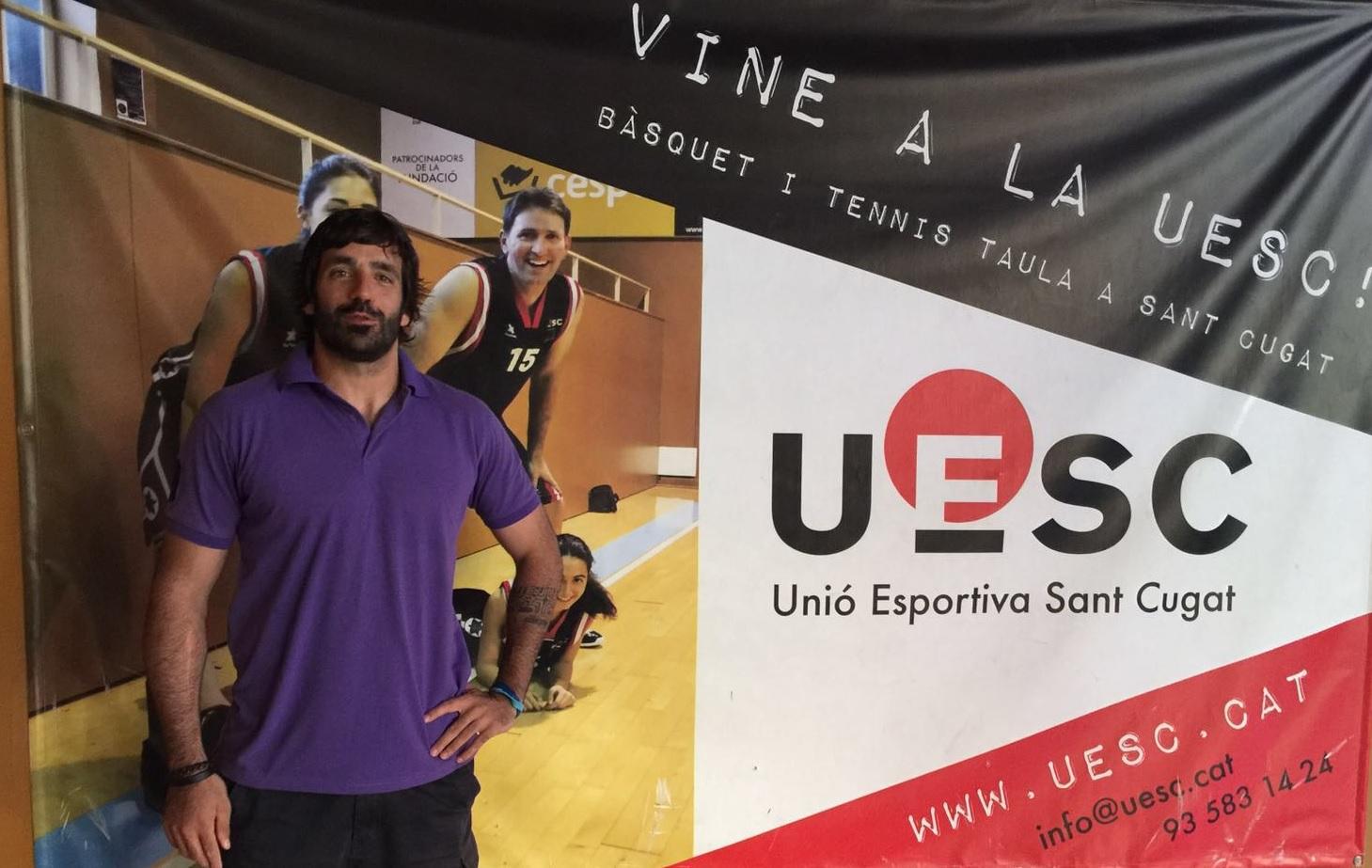 Pere Soler alies Pistol fitxatge UESC 2016-2017 Copa Catalunya