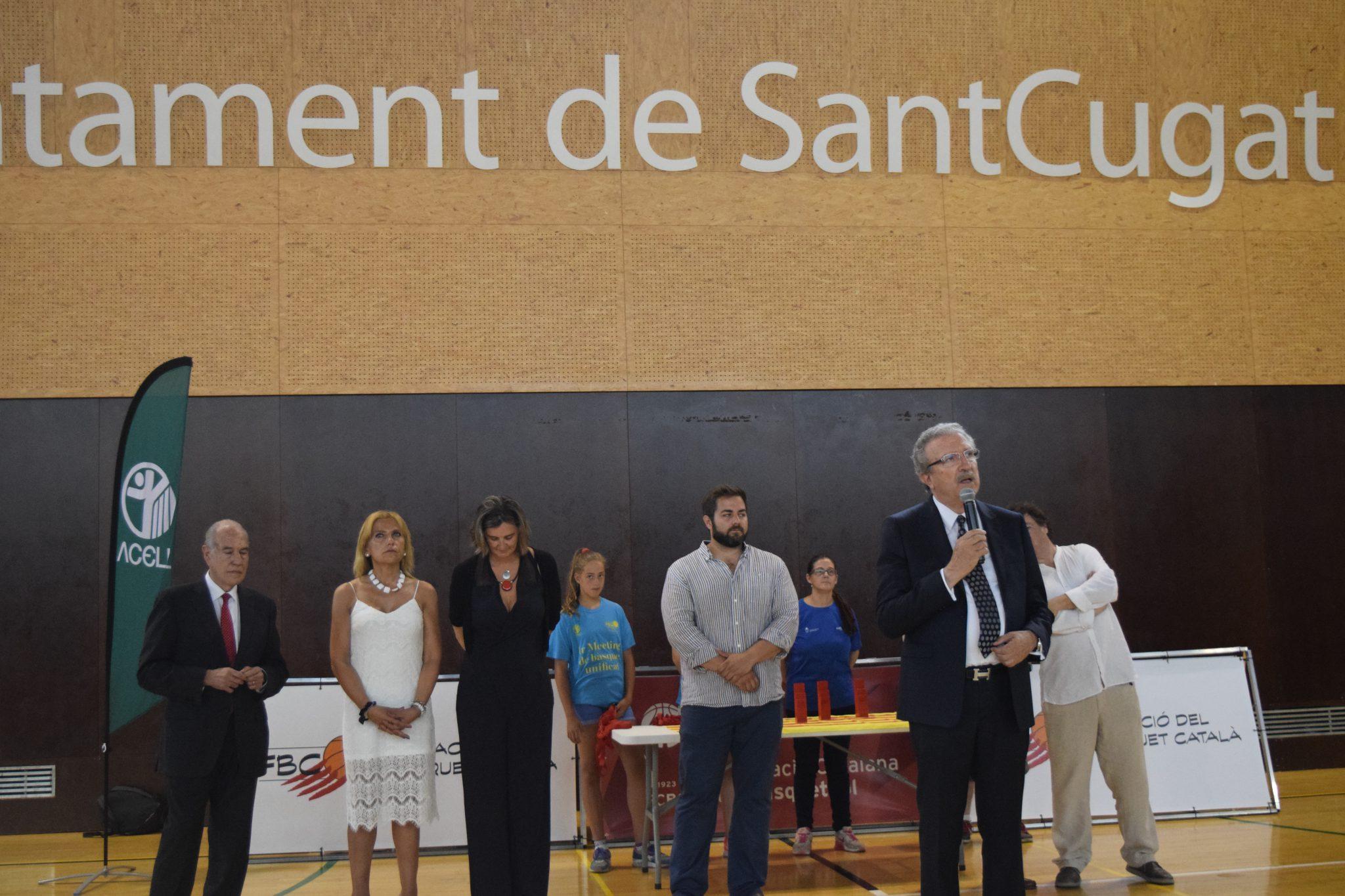 Joan Fa anunci Ciutat Bàsquet Català 2017 Sant Cugat