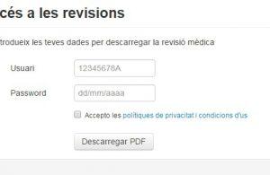 Revisió mèdica resultats Dr. Bernat de Pablo