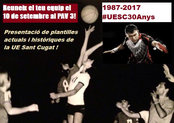 iu un moment històric el 10 de setembre en la presentació dels equips de la UESC